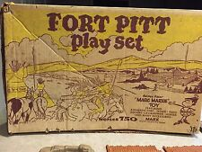 Marx Fort Pitt Play Set Series 750 Box#3741