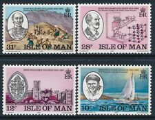 1983 GB ISLE OF MAN KING WILLIAM COLLEGE SET OF 4 FINE MINT MNH