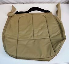 FORD F150 LARIAT SEAT COVER PASSENGER RIGHT FRONT BOTTOM LEATHER TAN PALE ADOBE