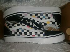 Vans Old Skool Party (Party Checker) Multi/Bla Size 4