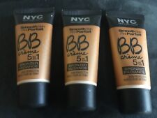 Lot of 3x NYC BB Creme 5 in 1 Bronzed Radiance 004 Light