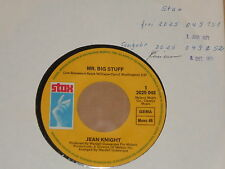 "JEAN KNIGHT -Mr. Big Stuff- 7"" 45 Stax Archiv mint"