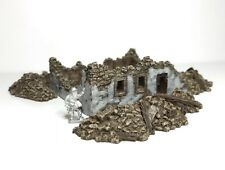 15mm  Wargame Ruin (with Rubble Pack) Suitable for flames Of war