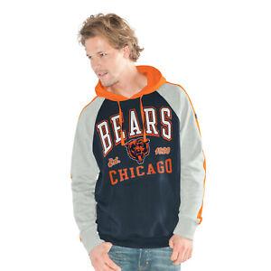G-III Sports Chicago Bears Men's The Closer Pullover Hoody Sweatshirt
