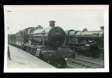 Railway British Rail steam loco 6820 + Poderham Castle Swindon RP plain back
