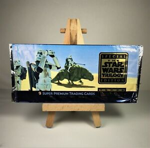 🚀MINT Star Wars🚀 Trilogy Gold Edition🚀 Topps Special Edition Widevision RARE