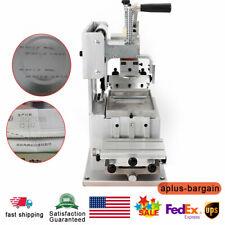 Single Color Manual Pad Printing Machine Logo Pad Printing Machine Pad Printer