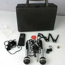 Realistic Pro 100 Microphone Kit - 2 Microphones with Case from Radioshack