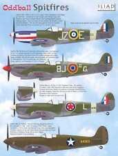 Iliad Decals 1/48 ODDBALL SPITFIRES British Supermarine Spitfire Fighters