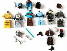 LEGO STAR WARS Minifigure Lot Parts Snoke Jango Fett Boba Darth