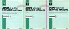 SHOP MANUAL H3 SERVICE HUMMER REPAIR 2009 BOOK H3T HAYNES CHILTON