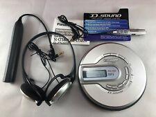 Panasonic Sl-Ct582V Portable Cd Player Mp3 Fm/Am Radio W/ Accessories & Case