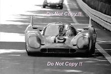 Richard Attwood & Herbert Muller Gulf Porsche 917 K Le Mans 1971 Photograph 3