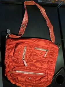 tods bag nilon red pre owned