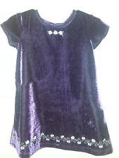 Blueberri Boulevard Girls 2T Purple Dress & Coat Polyester/Acrylic 2 pc dressy