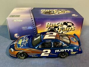 RFO ACTION 2005 RUSTY WALLACE #2 MILLER LITE 700TH COLOR CHROME 1:24 DIECAST CAR