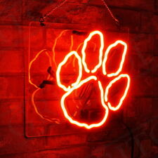 Bear's Paw Bontique Shop Window Corridor Neon Sign Light Room Shop Beer Bar Pub
