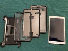 """Samsung Galaxy Tab4 Model # SM-T330NU 8"""" 16Gb with otter box case"""