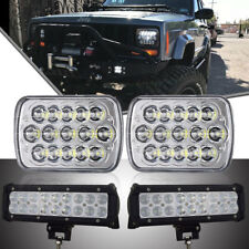 "7""x6""45W LED Headlights Sealed Xenon HID Halogen Bulb GMC Savana 1500 3500 2500"