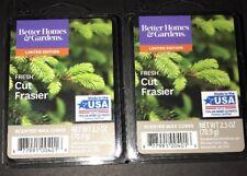 Better Homes & Gardens FRESH CUT FRASIER Scented WAX CUBES / 2 Packs