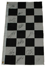 Checkered Flag Signed by 11 MotoGP Riders including Marco Simoncelli