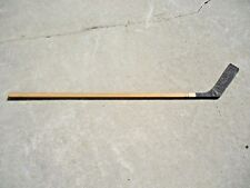 vintage Alphorn Wood Hockey Stick with Straight Blade - in good used shape 62""