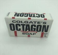 New OCTAGON SOAP Vintage Colgate's  Large Size 7 ounces