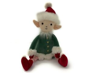 "Jellycat London I Am Leffy Elf Plush Medium 13"" Christmas Stuffed Toy"