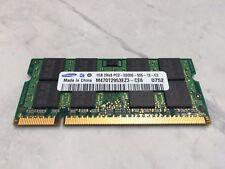 Samsung M470T2953EZ3-CE6 1GB DDR2 667MHz PC2-5300 Non ECC SO DIMM Laptop Memory