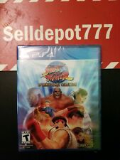 Street Fighter 30th Anniversary Collection (Sony PlayStation 4, 2018) Brand New