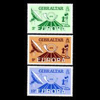 "Gibraltar 1979 - EUROPA Stamps ""Post & Telecommunications"" - Sc 382/4 MNH"