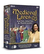 MEDIEVAL LIVES - 3 DVD BBC BOX SET - BIRTHS, DEATHS & MARRIAGES Dr Helen Castor