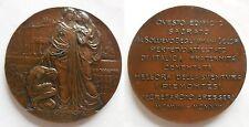 medaglia inaugurazione nuovo edificio dopo Terremoto di Messina 1908 1913