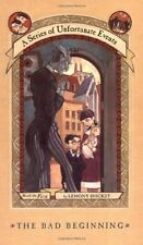 The Bad Beginning (A Series of Unfortunate Events #1) by Lemony Snicket