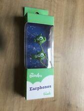 My Doodles Earphones - green alien