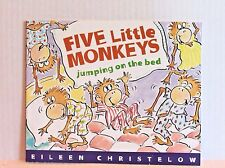 Five Little Monkeys Jumping on the Bed by Eileen Christelow - Paperback Book