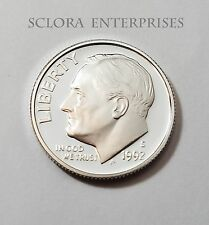 1992 S ROOSEVELT *90% SILVER PROOF* DIME **FREE SHIPPING**