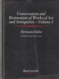 Conservación And Restoration Of Works Of Art And Antiquities Vol.1
