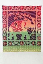 Urban Outfitters Magical Thinking Rainbow Elephant Tapestry $39 S/O NWOT Flowers