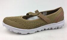 Propet TravelActiv Mary Jane W5103 Shoes Wide Size 8.5D, Honey 759