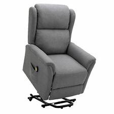 Relaxsessel Fernsehsessel TV Ruhe Sessel mit Aufstehfunktion elektrisch grau
