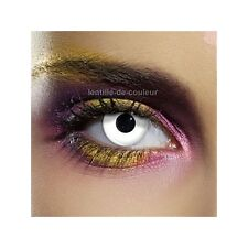Lentilles de couleur fantaisie festive white out - fancy color lenses