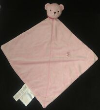 Carters Just One Year Pink Bear Rattle Precious Firsts Baby Blanket Lovey Toy