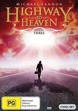 Highway To Heaven : Season 3 (DVD, 2012, 6-Disc Set) Region 4 Brand New!