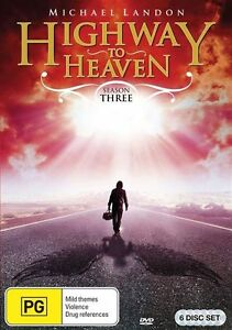 Highway To Heaven : Season 3 DVD BRAND NEW SEALED 💥💥