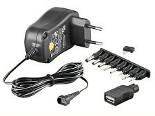 NETZTEIL - 3V 4,5V 5V 6V 7,5V 9V 12V 1000mA inkl 5V USB
