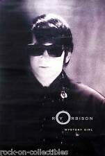 ROY ORBISON 1989 MYSTERY GIRL PROMO POSTER ORIGINAL