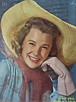 Vintage Collectible Movie Magazine Photoplay June Allyson Cover August 1946
