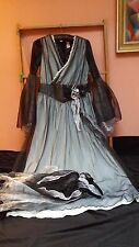 VINTAGE MEDIEVAL STYLE DRESS COSTUME THEATRE GAME OF THRONES FANCY DRESS SMALL
