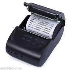 ZJ - 5802LD Mini Bluetooth 2.0 58mm Mobile Thermal Receipt Printer EU PLUG